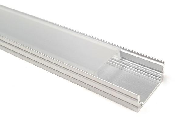 LED-Alu-Profil C-Line flach