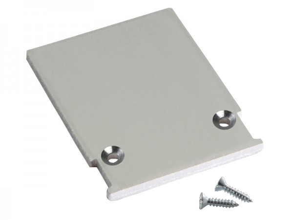 Endkappe M-Line Flach quadratisch