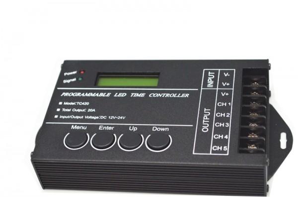 Moonlight Zeitsteuerung 5-Kanal USB-programmierbar