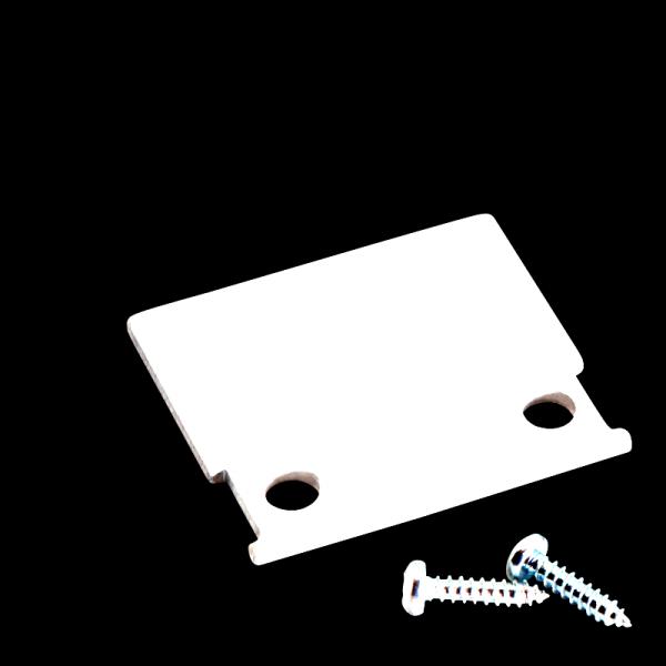 Endkappe M-Line Standard weiß bündig
