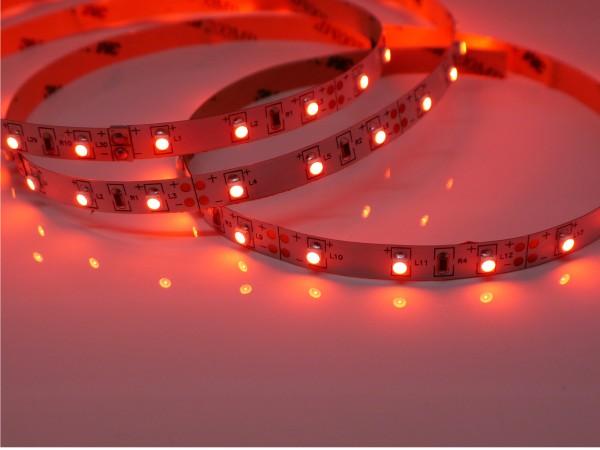 LED-Streifen 60LEDs/m, rot 12V