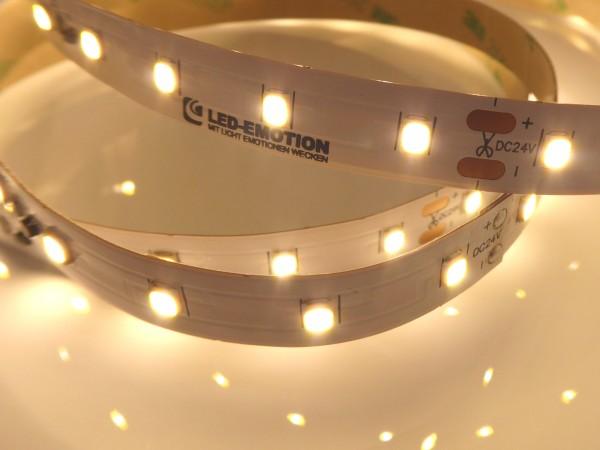 Premium BasicLine HE LED-Streifen, 3000K warmweiß, 1940lm/m, 14,4W/m, 70LEDs/m, 24V