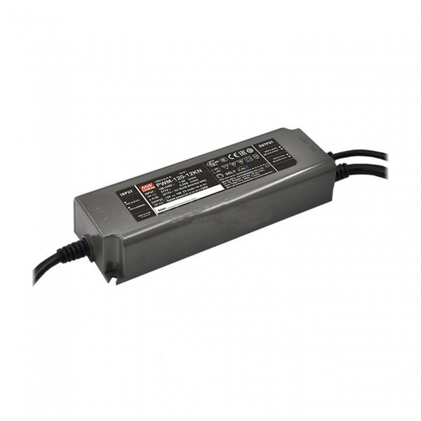 LED-Möbeleinbaunetzteil 24V, 120W, 5A, PWM, MM, IP67, KNX