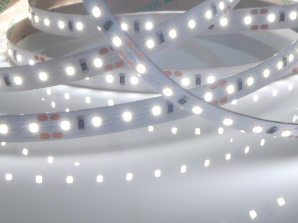 HighCRI LED-Streifen, 6500K purweiß, 820lm/m, 9,6W/m, 120LEDs/m, 24V, 5m Rolle