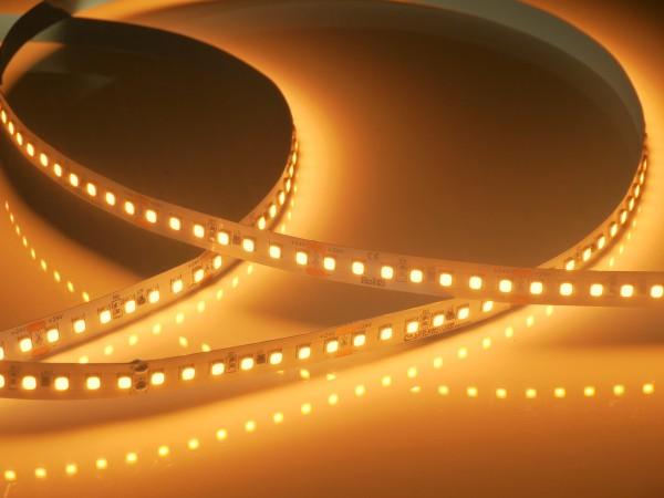 Premium HD LED-Streifen, Bakery 2300K CRI>90 R9>50, 140LEDs/m 24V, 5m Rolle