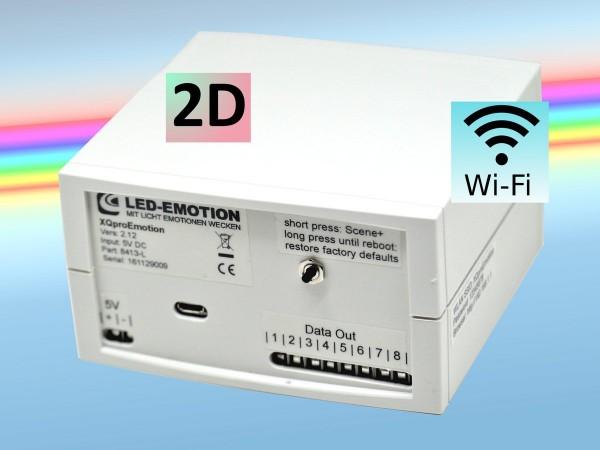 XQproEmotion LED-Lauflicht Controller 2D