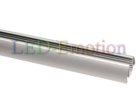 Alu-Aufbauprofil 120cm silber-eloxiert