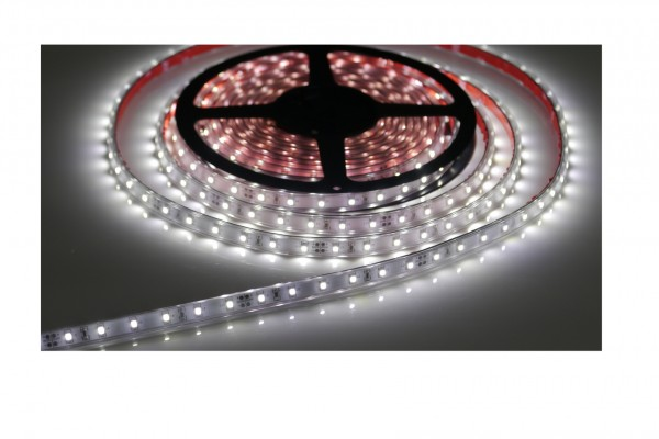 LED-Streifen in PVC-Hülle, 60LEDs/m,2m Rolle, purweiß 12V