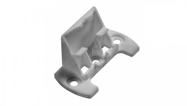 Montagehalter für Alu Profil Z201, 60° Neigung