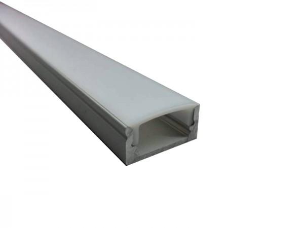 LED-Alu-Profil C-Line flach, Aufbau
