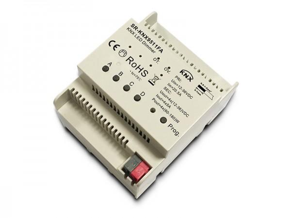 4-Kanal KNX LED Dimmer 12-36V DIN-Rail