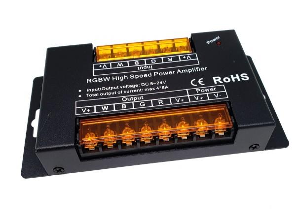 RGBW-Repeater 4x8A, 20A max. 12-24V