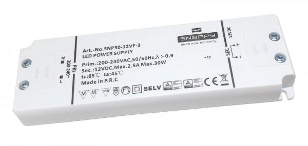 Netzteil Möbeleinbau 12V DC, 30W, F, MM