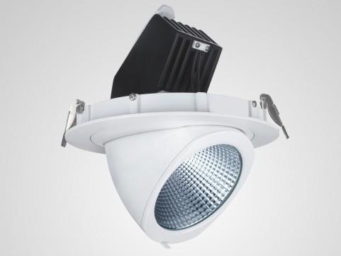LED Einbaushoplight schwenkbar premium warmweiß