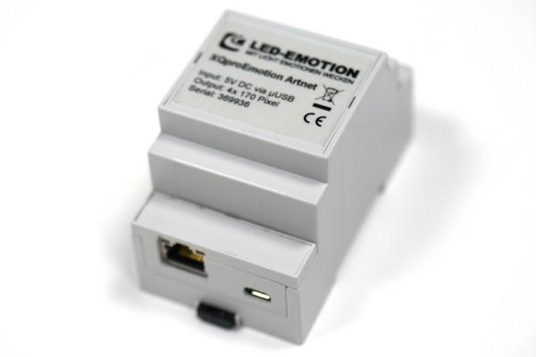 XQproEmotion Artnet LAN - Digital LED Controller