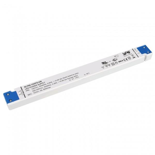 LED-Möbeleinbaunetzteil 60W 24V extraslim
