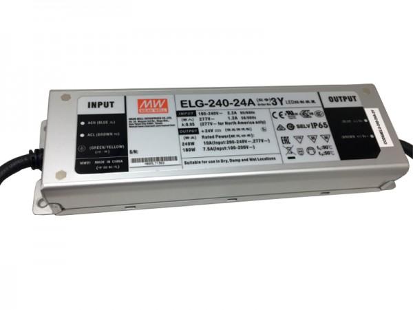 LED-Möbeleinbaunetzteil 24V DC, 240W, 10A MM, IP65, ENEC