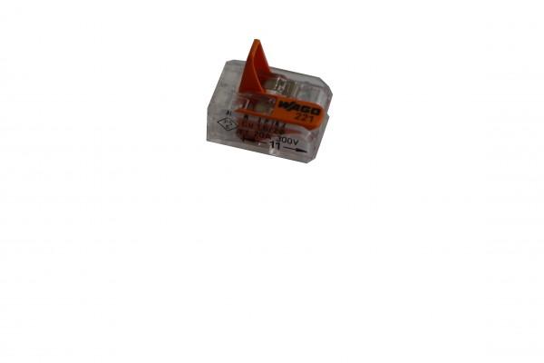 Verbindungsklemmen 2polig 0,08-4mm² Wago