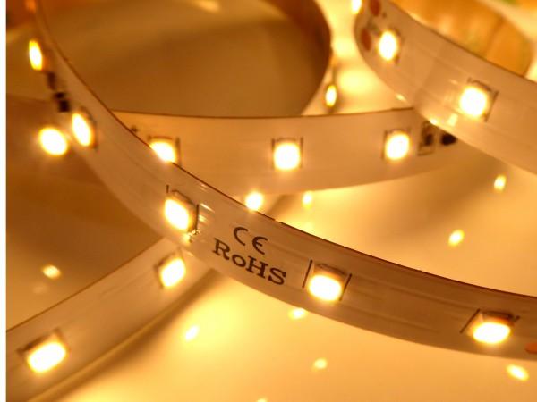 Premium BasicLine HE LED-Streifen, 2700K warmweiß, 1800lm/m, 14,4W/m, 70LEDs/m, 24V