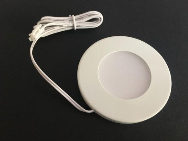 LED Pucklight warmweiß 2,2W, 24V