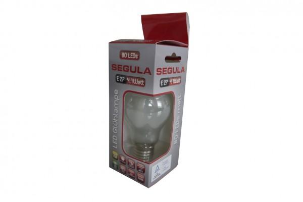 Segula LED Glühlampe, E27, 4,1W, matt