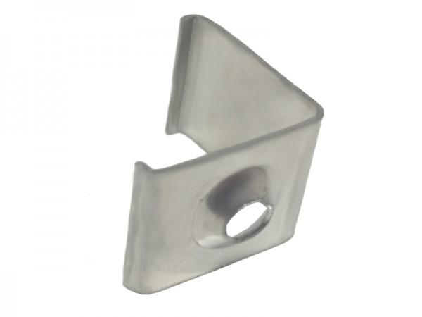 Befestigungsclip Metall LED-Alu-Profil E-Line Slim