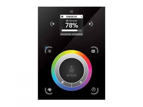 DMX-Touchpanel STICK-DE3 USB - mit integriertem Farb-LCD und Touchwheel