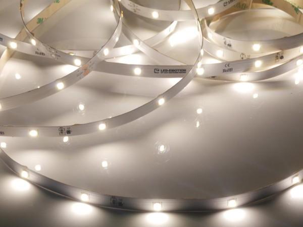 Premium Backlight LED-Streifen, 4000K neutralweiß, 544lm/m, 3,8W/m, 28LEDs/m, 24V, 5m Rolle
