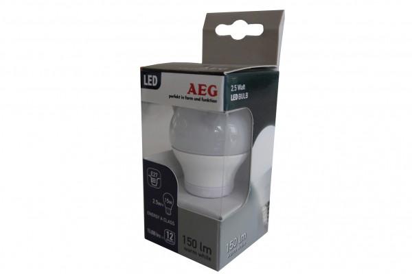 LED Bulb AEG, 2,5W, 3000K
